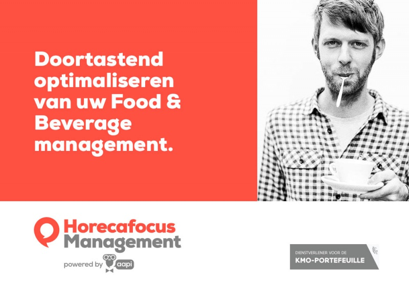 Doortastend optimaliseren van uw Food Beverage management
