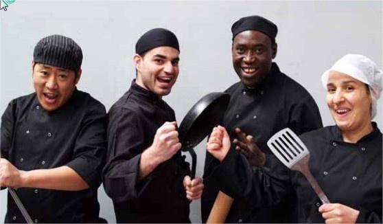 Op zoek naar gemotiveerd keukenpersoneel De Werkvormm-cursisten zijn er helemaal klaar voor