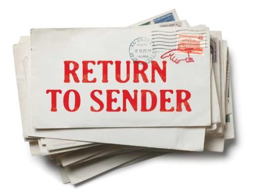 Uw opzegbrief werd naar het foute adres verstuurd wat nu
